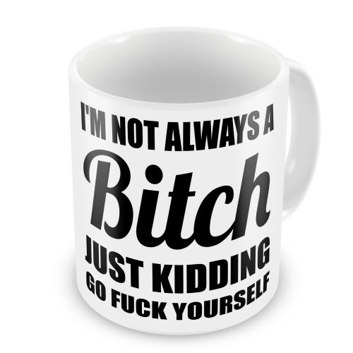 Im Not Always A Bitch Funny Novelty Gift Mug